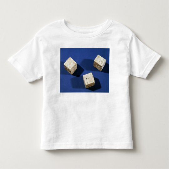 Three dice, from the acropolis at Osteria Toddler T-shirt