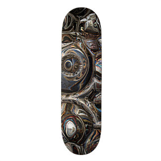 Three Dimensional Reflections Skateboard