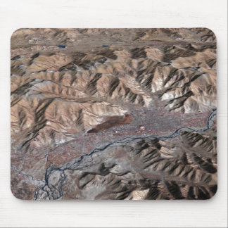 Three-dimensional view of the landscape mouse pad