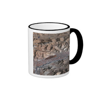 Three-dimensional view of the landscape mug