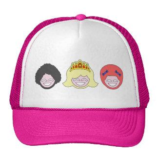 Three Disco Mesh Hat