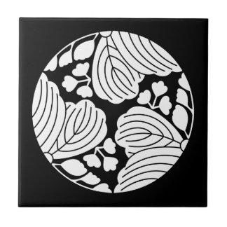 Three dividing 53 paulownias ceramic tile