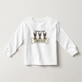 Three Dobermans Toddler T-shirt