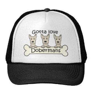 Three Dobermans Trucker Hat