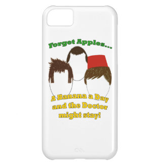 Three Doctors, Apples, and Bananas iPhone 5C Cover