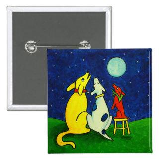 Three Dog Night 2 Inch Square Button