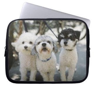 Three dogs computer sleeve