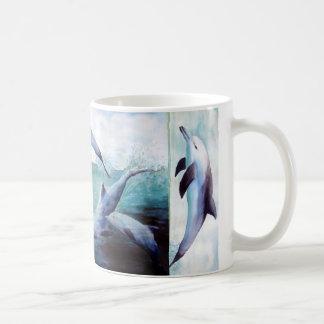 Three Dolphin image Mug
