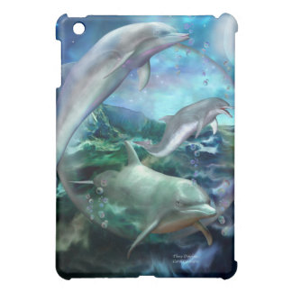Three Dolphins Art Case for iPad iPad Mini Case