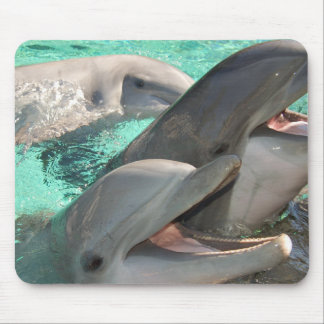 Three Dolphins Mouse Pad