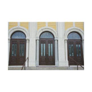 Three Doors Canvas Print