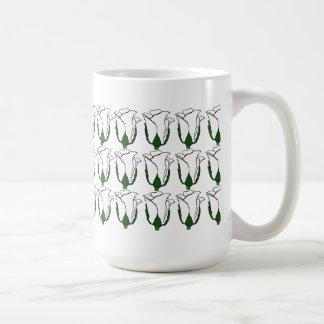 Three Dozen White Rose Bud Mug