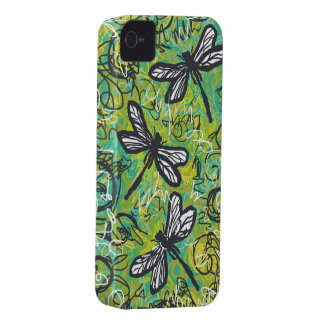 Three Dragonflies, Art Case For the iphone 4 iPhone 4 Case-Mate Case