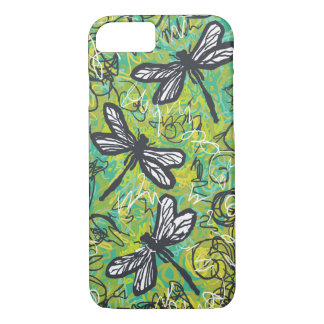 Three Dragonflies, Art Case For the iPhone 7 case