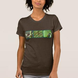 Three Dragonflies T-Shirt