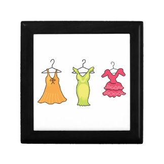 THREE DRESSES JEWELRY BOXES