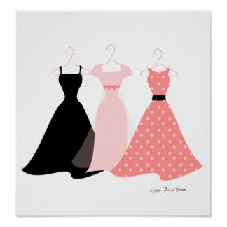 Three Dresses Poster