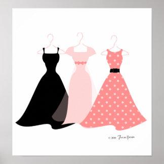 Three Dresses Poster