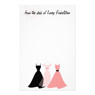 Three Dresses Stationery