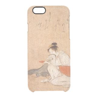 Three Drunken Women Japanese Art Torii Kiyonaga Clear iPhone 6/6S Case