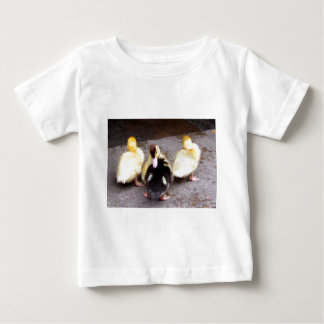 Three ducklings baby T-Shirt