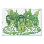 Three Earth Fairies Fantasy Art by Al Rio iPad Mini Cases