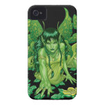 Three Earth Fairies Fantasy Art by Al Rio iPhone 4 Case