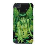 Three Earth Fairies Fantasy Art by Al Rio iPod Touch (5th Generation) Cover