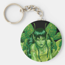 fairy, fairies, elves, spirtes, al rio, magical beings, illustration, drawing, Keychain with custom graphic design