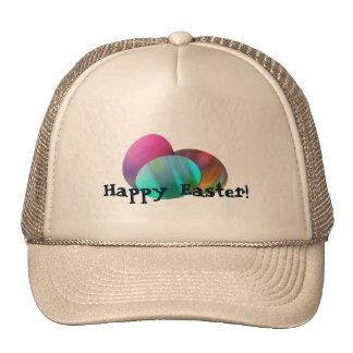 Three Easter Eggs Mesh Hat