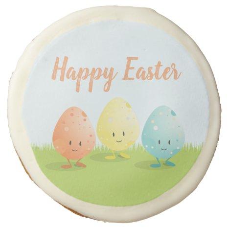 Three Easter Eggs   Sugar Cookies