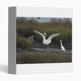 Three Egrets Avery Binder