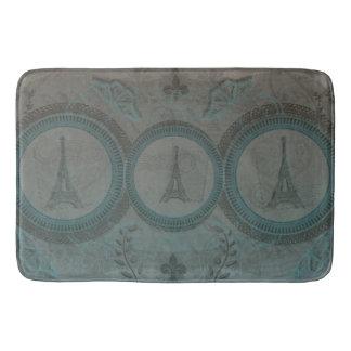 Three Eiffel Towers Bath Mat