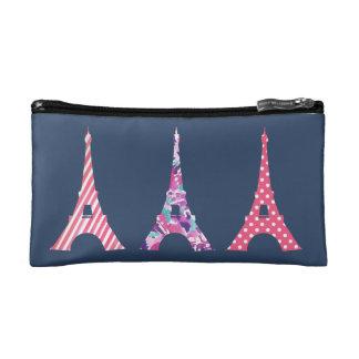 Three Eiffels Cosmetic Bag