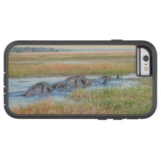"""THREE ELEPHANTS CROSSING RIVER"" TOUGH XTREME iPhone 6 CASE"