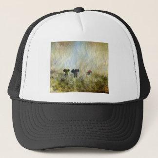 Three Elephants Trucker Hat