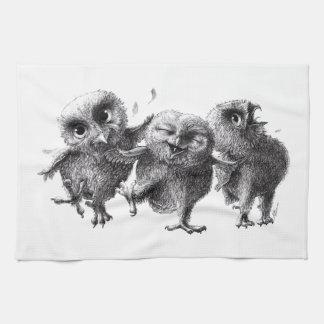 Three emergency Angry Birds Kitchen Towel