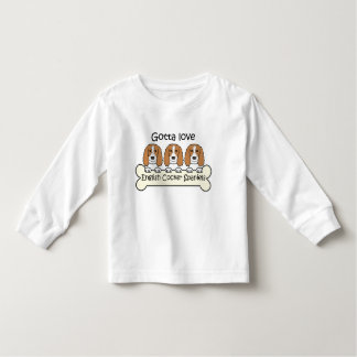 Three English Cocker Spaniels Toddler T-shirt