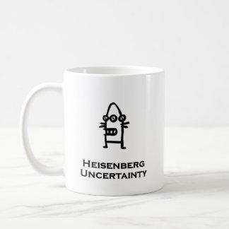 Three Eye Bot Heisenberg Uncertainty Coffee Mug