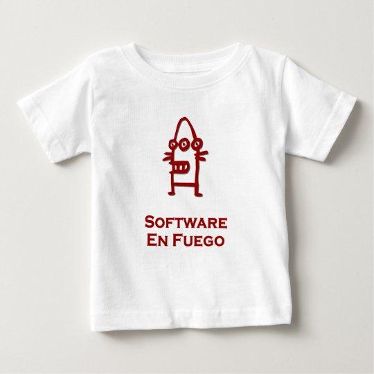 Three Eye Bot Software En Fuego Baby T-Shirt