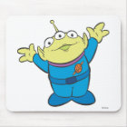 Three-Eyed Alien Disney Mouse Pad