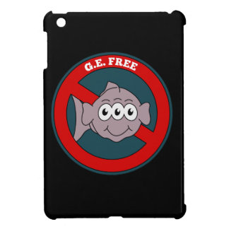 Three eyed fish G.E. free sign Cover For The iPad Mini