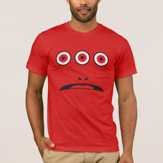 THREE-EYED MONSTER FACE COSTUME T-Shirt