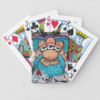 Three Eyed Pirate Graffiti Bicycle Playing Cards