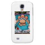 Three Eyed Pirate Graffiti Samsung Galaxy S4 Cases