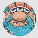 Three Eyed Pirate Graffiti Stickers