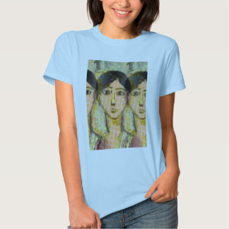 Three Faces: Homage To Matisse T-shirt