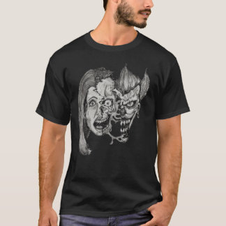 three faces of hell T-shirt