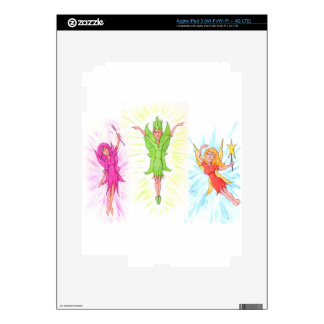 Three Fairies iPad 3 Skins