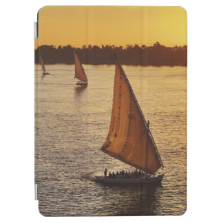 Three falukas with sightseers on Nile River at iPad Air Cover